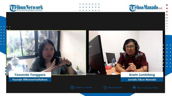 TRIBUN BAKU DAPA membahas Tren Kekerasan Berbasis Gender Online