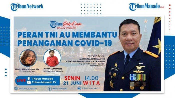 Ini Peran TNI AU Bantu Cegah Penyebaran Covid-19