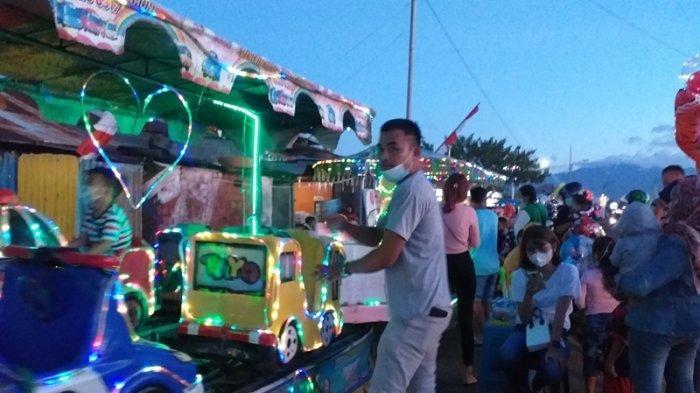 Pandemi Covid-19 Tak Kunjung Berakhir, Penyedia Jasa Odong-odong di Manado Ikut Terdampak