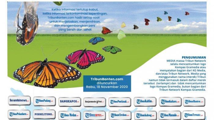 TribunBanten.com Kini Hadir, Mata Lokal di Banten Menjangkau Indonesia
