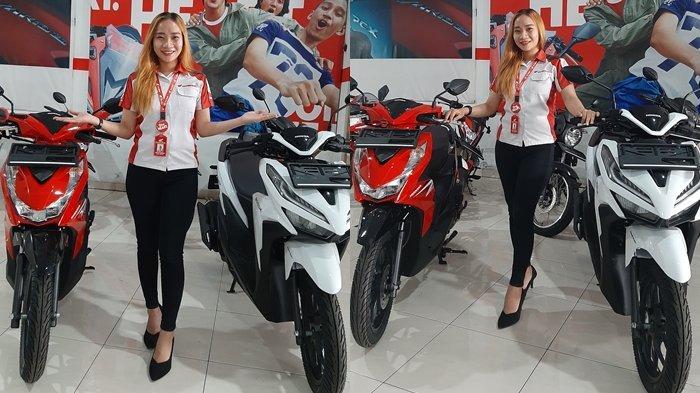 Promo Tridjaya Motor Samrat Manado, Beli Honda BeAT DP Rp 1 Jutaan Vario 125 Rp 2 Jutaan