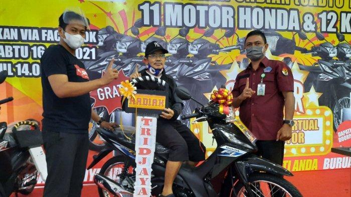 Daftar Nama 11 Konsumen Dapat Hadiah Sepeda Motor dari Tridjaya Motor Manado
