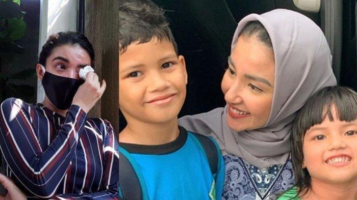 Tsania Marwa Menangis Lihat Anaknya Takut Pada Dirinya, Dikira Menculik dan Menyeramkan, Ini Fotonya