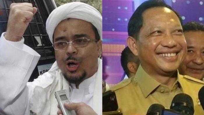 Tujuan FPI Bikin NKRI Bersyariah,Tito Karnavian: Enggak Boleh Ormas Lakukan Penegakan Hukum Sendiri