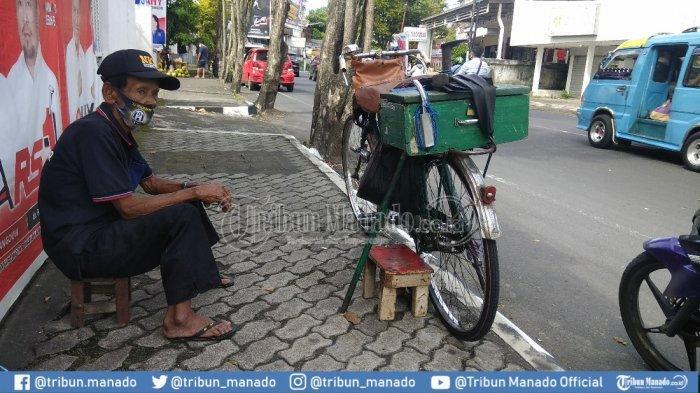 Saliya Resowikromo di Jalan BW Lapian II, Tikala, Manado, Senin (30/11/2020).