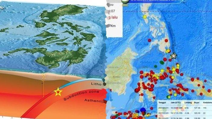 Fakta Tunjaman Lempeng Laut Filipina Pemicu Gempa Talaud M 7.0, Kawasan Seismik Paling Aktif Didunia