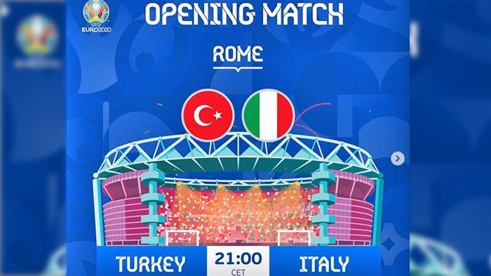 Prediksi Skor Turki VS Italia, Roberto Mancini Akui Akan Banyak Tekanan di Laga Pembuka Euro 2020