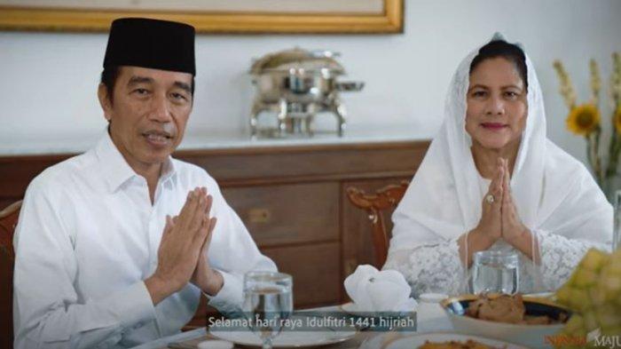 Ucapkan Selamat Idul Fitri, Presiden Joko Widodo: Lebaran Kali Ini Menuntut Pengorbanan Kita Semua