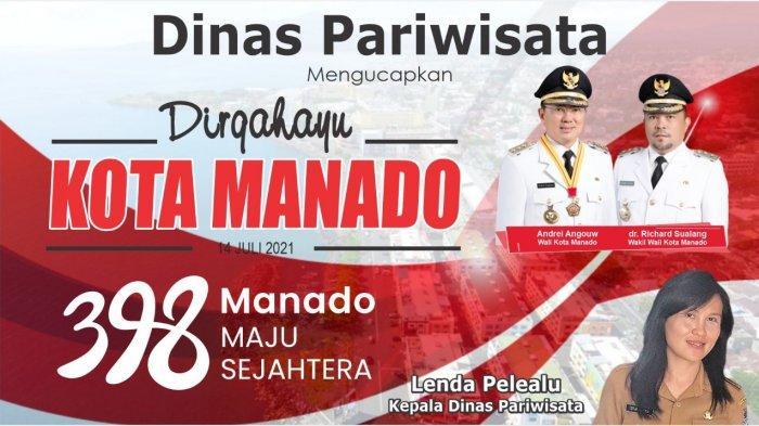 Dirgahayu Ke-398 Kota Manado, Lenda Pelealu: Maju, Hebat dan Sejahtera
