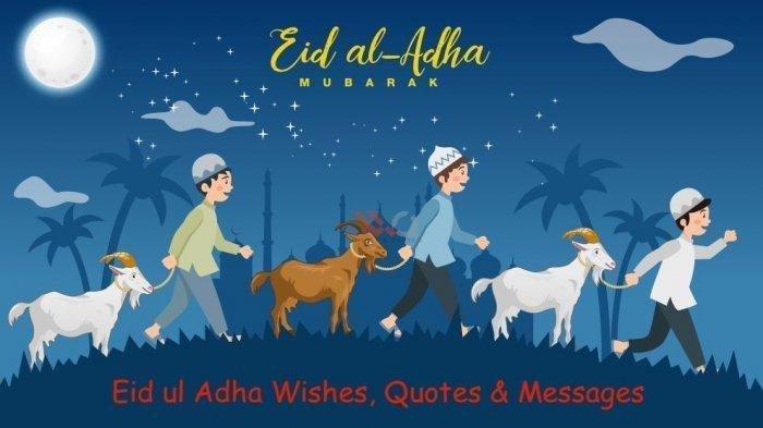 Kumpulan Gambar Lengkap Selamat Hari Raya Iduladha 2020, Keren Diunggah di Media Sosial