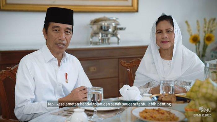 Ucapkan Selamat Idul Fitri 2020, Presiden Jokowi: Saya Merasakan Hal ini Sangatlah Berat