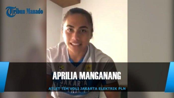 Aprilia Manganang Atlet Voli dari Sulut, Rajin Bantu Orangtua, Ditanya Jodoh Tersipu Malu