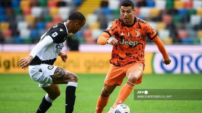 Yang Terjadi Pada Menit ke-81, Laga Seru Udinese VS Juventus Tadi Dini Hari Senin (3/5/2021)