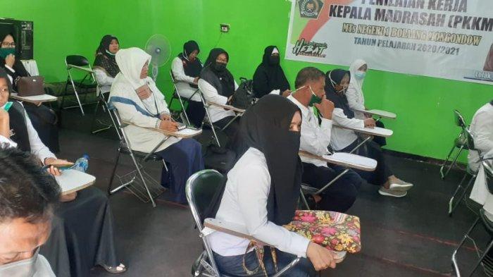 12 Bakal Calon Kepala Madrasah Bolmong Ikut Ujian Kompetensi dan Pengawas