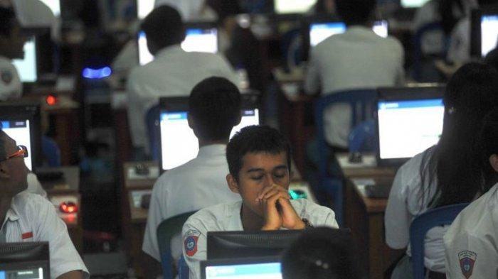 8 Poin SE Mendikbud:Ujian Nasional Ditiadakan, Penentu Kenaikan Kelas Dinilai dari Aspek Berikut
