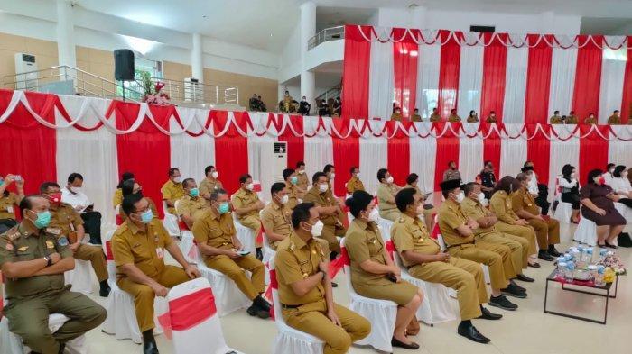 Bupati Boltim Sam Sachrul Mamonto Hadiri Bimtek Penyederhanaan Birokrasi