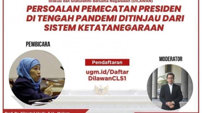 Istana Beri Tanggapan soal Teror Diskusi Pemecatan Presiden: Segera Diusut Siapa Yang Melakukan Itu
