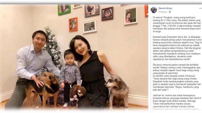 VIRAL Unggahan Misionaris soal Puisi Dokter Li Wenliang, PenemuWabah Corona yang Kutip2 Tim 4:7-8