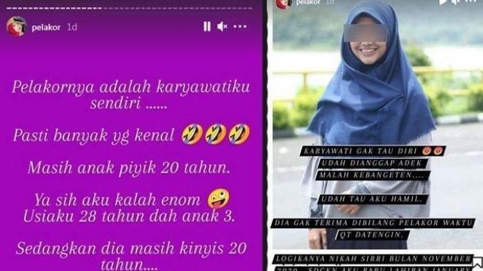 Karyawati Usia 20 Tahun Rebut Suami Bosnya Sendiri Ngaku Cuma Korban, Istri Sah: Edan Kabeh
