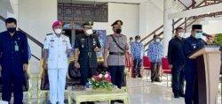 Upacara HUT ke-57 Provinsi Sulut di Talaud Dilaksanakan di Lapangan Kantor Bupati