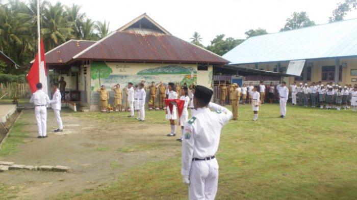 Semangat HARDIKNAS oleh Insan Pendidikan di Pulau Terluar