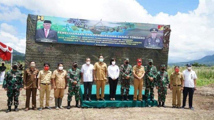 Bantu Penyelamatan Danau Tondano, Bupati Minahasa Apresiasi Pangdam XIII/Merdeka