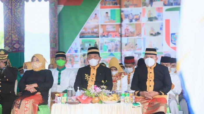 Sekda Bolmut Absen Pada Upacara Peringatan HUT Ke-14 Kabupaten Bolmut, Ada Apa?