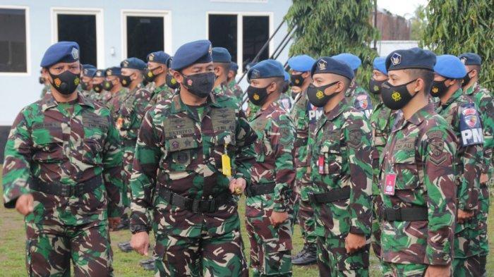 Upacara HUT ke-70 Koopsau Lanudsri Manado, Utomo Ingatkan Disiplin Prokes Lawan Covid-19