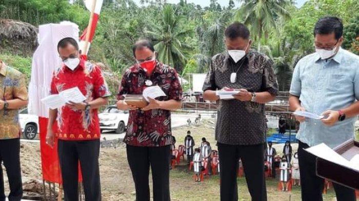 Bupati Minahasa Dampingi Gubernur dan Wakil Reresmian GMIM Lembah Yordan Atep