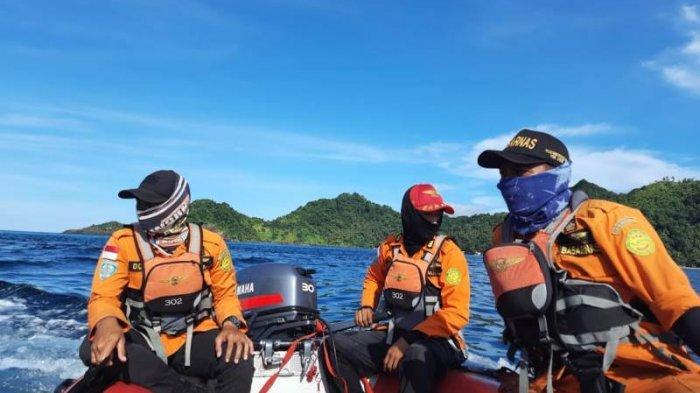 Pencarian Nelayan Asal Buhias Sitaro, Tim SAR Fokus di Lokasi Penemuan Perahu dan Area Pesisir