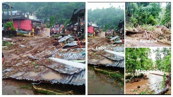 Banjir Bandang Sangihe, Warga Mengungsi, Korban Tewas hingga Sejumlah Kerusakan Konstruksi