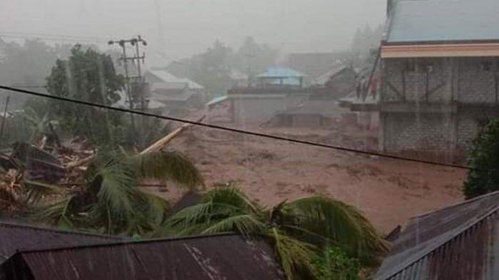 Banjir Bandang Lebo Sangihe Makan Korban, Keluarga di Manado Syok
