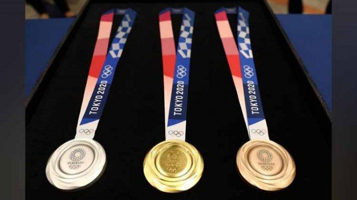 UPDATE: Daftar Perolehan Medali Olimpiade Tokyo 2020, Indonesia disusul Filipina