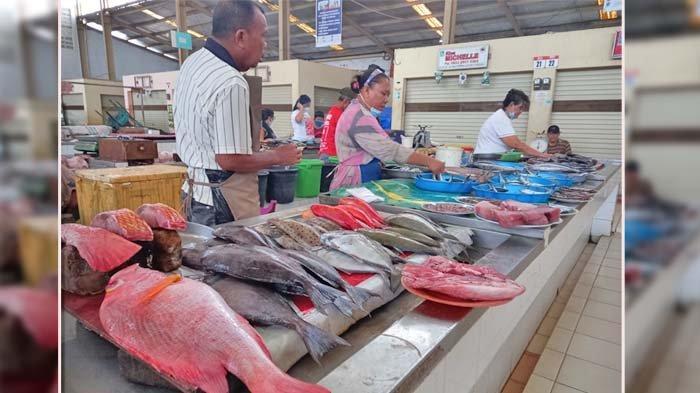 Update Harga Ikan dan Daging di Pasar Segar Paal Dua Manado Sabtu 2 Oktober 2021