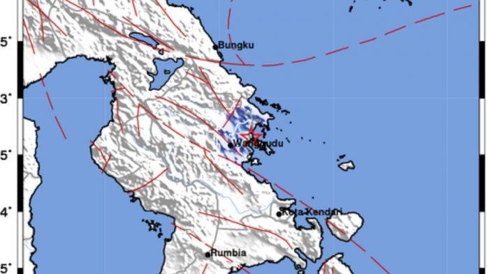 Gempa di Darat Tadi Malam Pukul 23.06 WIB, Info BMKG Ini Lokasi dan Kekuatannya