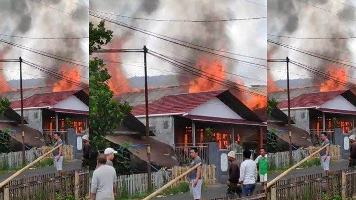 UPDATE Kebakaran Rumah di Tomohon, Nyawa Bayi Amora Tak Bisa Diselamatan