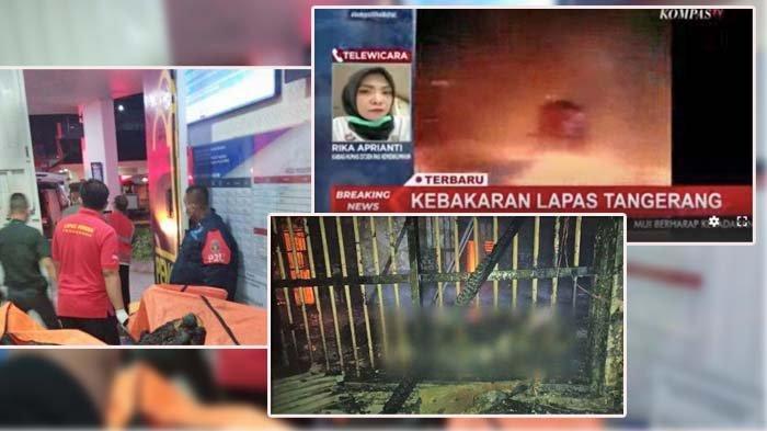 Nama-nama Napi Korban Kebakaran di Lapas Kelas 1 Tangerang