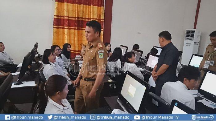 BKPP Bolmong Gelar TesSeleksi Kompetensi DasarCPNS
