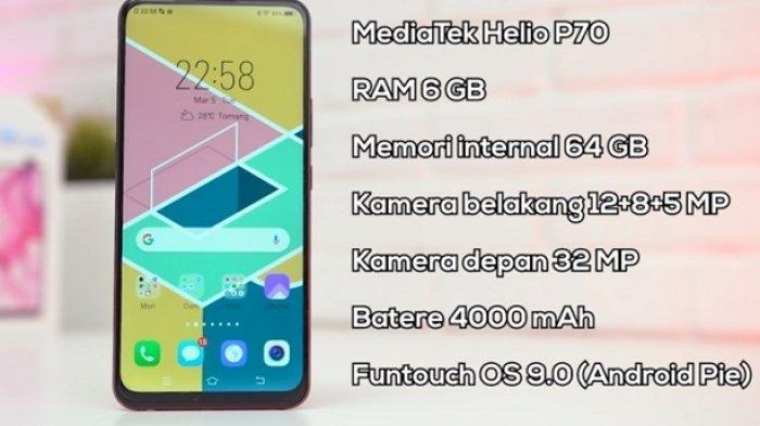 Update Terbaru - Daftar Harga Hp Vivo Mulai Rp 1 Jutaan, Vivo V11 Pro, Vivo Y19 , Vivo S1