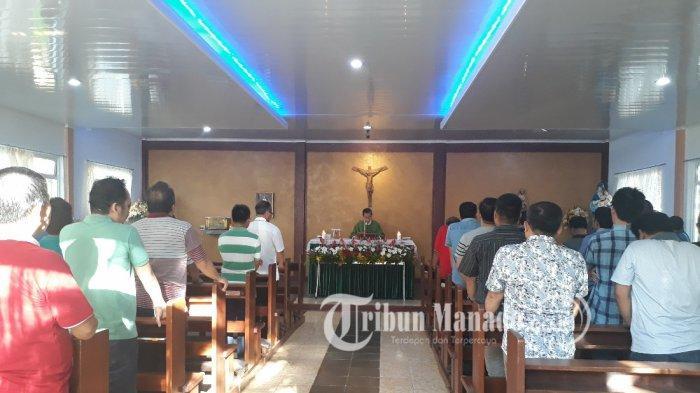Uskup Manado RollyUntu Buka Temu Pastores dengan Perayaan Ekaristi