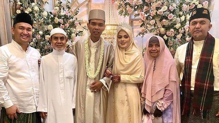 Ustaz Abdul Somad resmi menikahi Fatimah Az Zahra Salim Barabud