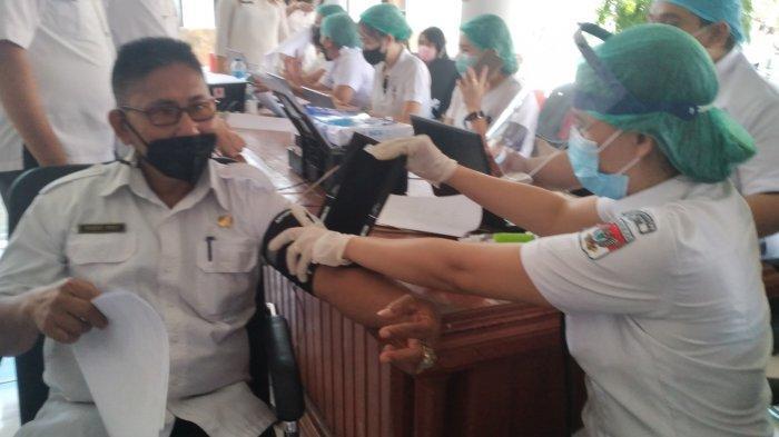 Bukan Batch CTMAV547, Dinkes Minahasa Selatan Lanjutkan Vaksinasi AstraZeneca