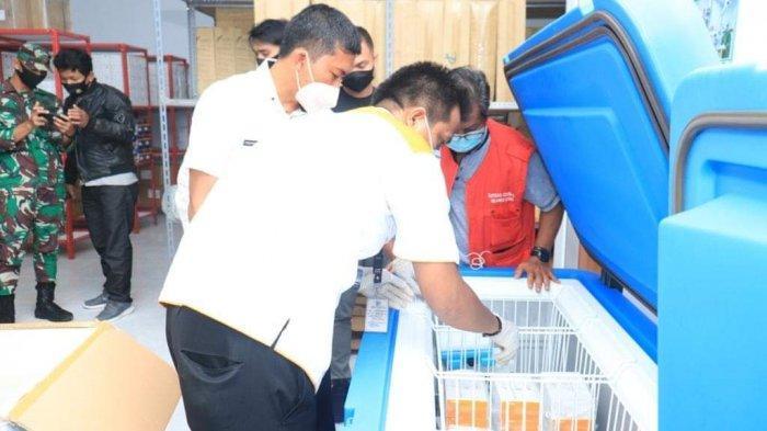 1.900 Dosis Vaksin Covid-19 Tiba di Kabupaten Bolmut, Jusnan: Prioritas Tenaga Kesehatan