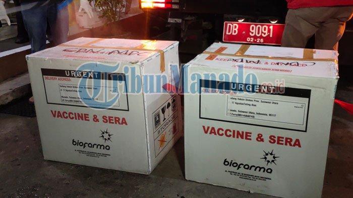Vaksin Covid 19 di Kota Kotamobagu Sulut.