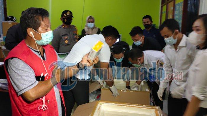 Vaksin Covid 19 Tiba di Kota Kotamobagu Sulut malam ini Rabu (27/1/2021).