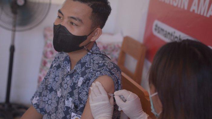 Targetkan 300 Siswa, SMA N 3 Manado Mengadakan Vaksinasi di Sekolah