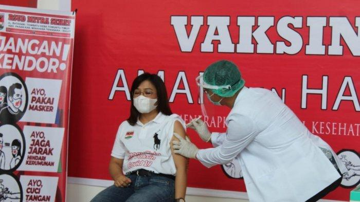 Hari Pertama, 176 Penerima Vaksinasi di Kabupaten Mitra Disuntik Vaksin Sinovac, 118 Orang Ditunda
