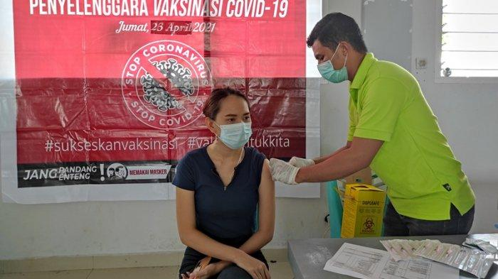 GMIM Musafir Kleak Manado Gelar Vaksinasi Covid-19, Layani Anggota Jemaat dan Masyarakat Umum