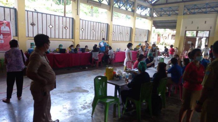 Vaksinasi di Desa Kokoleh 1.