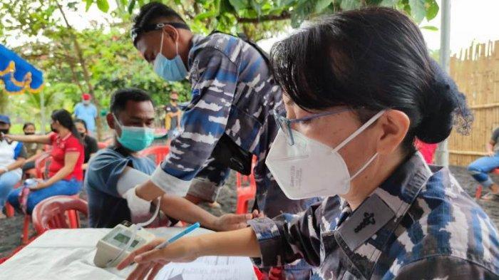 Kolaborasi Dengan PT MSM, TNI AL Laksanakan Vaksin